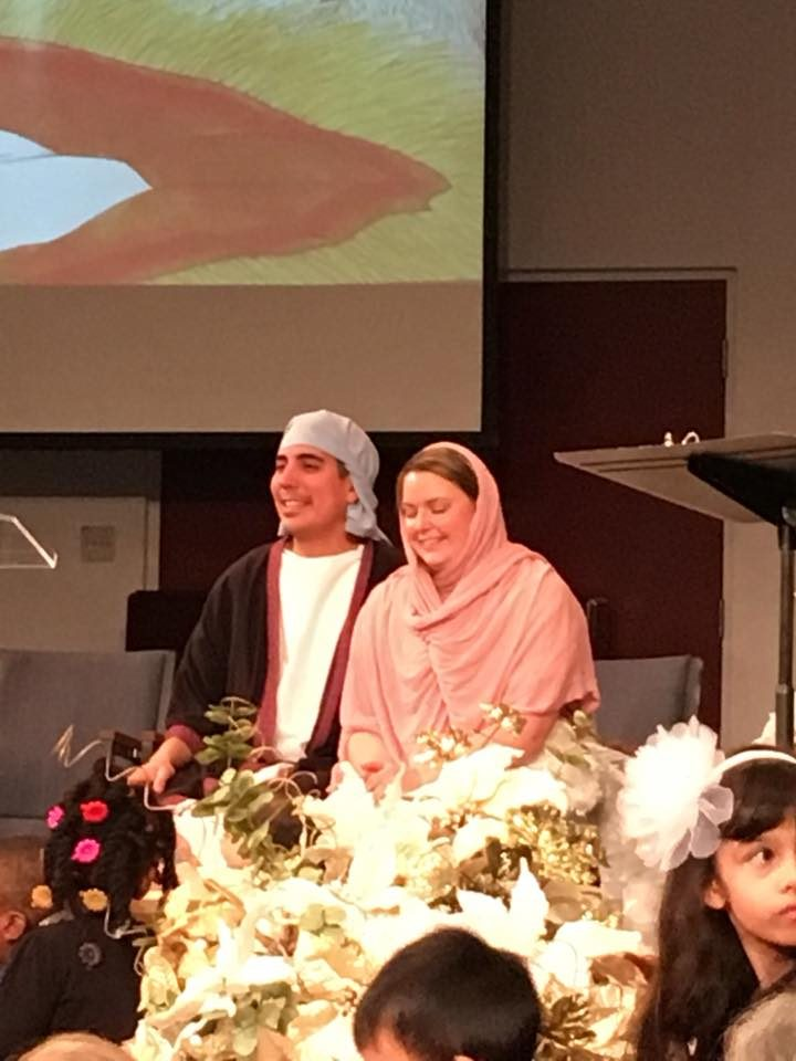 Mary & Joseph at Children's Story