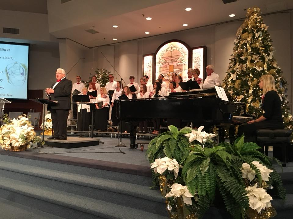 A Service of Lessons and Carols under the direction of Dr. Marvin Robertson.